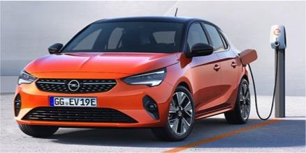 Corsa E - der vollelektrische Kleinwagen von Opel