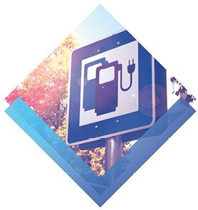 Elektro Ladestationen verfügbar