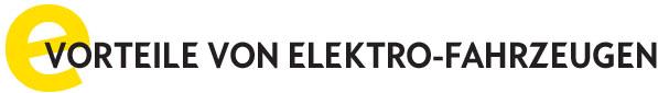 Vorteile von Elektro Fahrzeugen